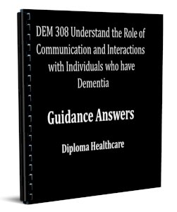 Understand the Role of Communication and Interactions with Individuals who have Dementia