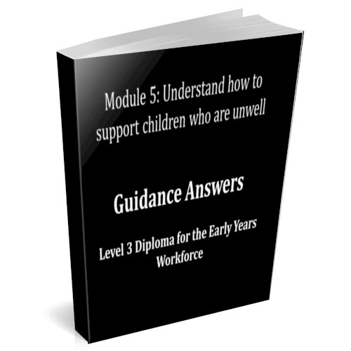 Understand how to support children who are unwell