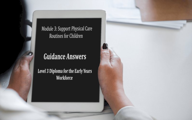 How to Support Physical Care routines for Children