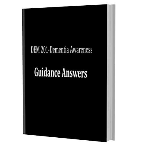 DEM 201-Dementia Awareness