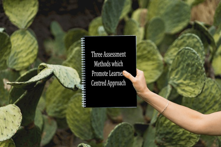Three assessment methods which promote learner-centred approach