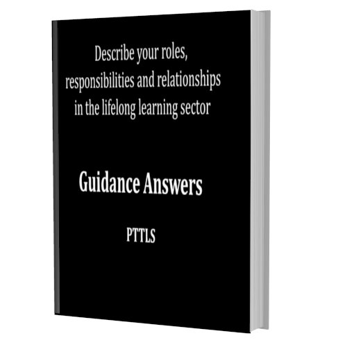 Your  roles, responsibilities and relationships in the lifelong learning sector