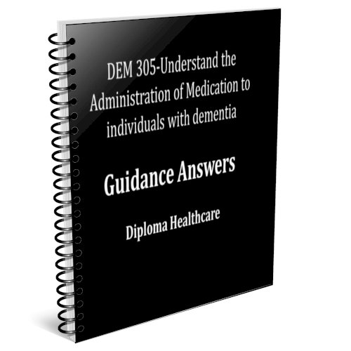 Understand the Administration of Medication to individuals with dementia